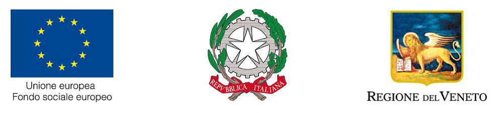 logo UE - Ministero del Lavoro e Regione del Veneto