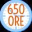 650 ORE
