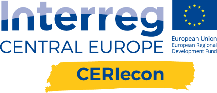 logo interreg central europe ceriecon